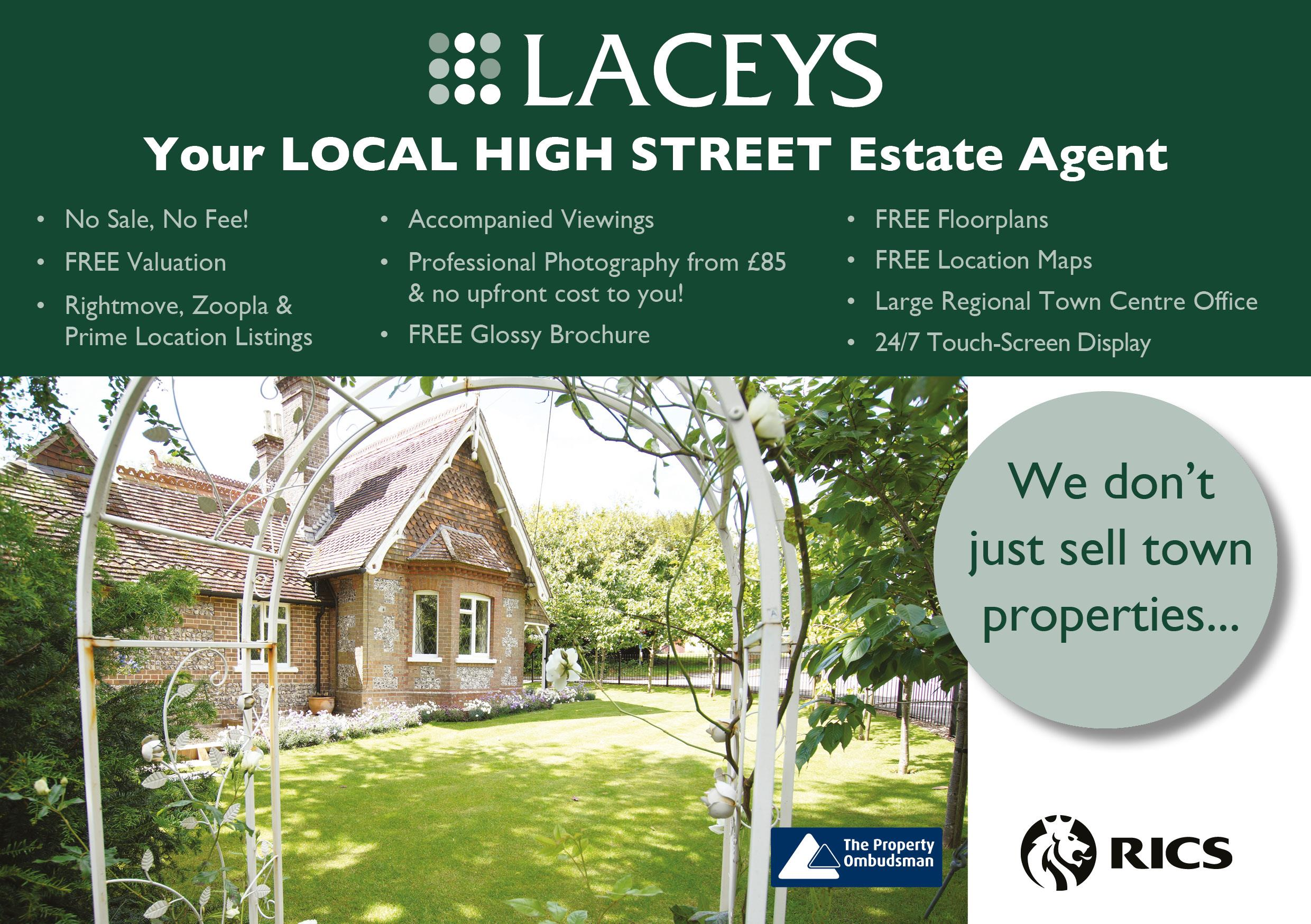 We don't just sell town properties ...